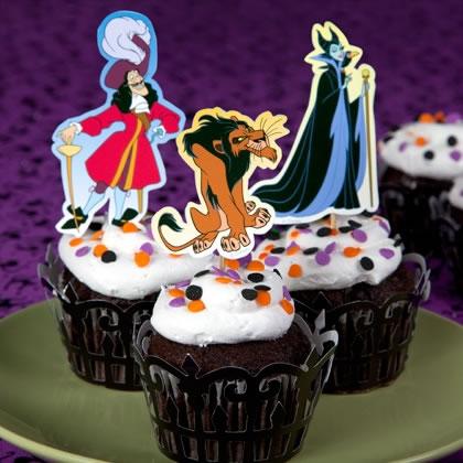 Decoracion de disney para cupcakes y muffins