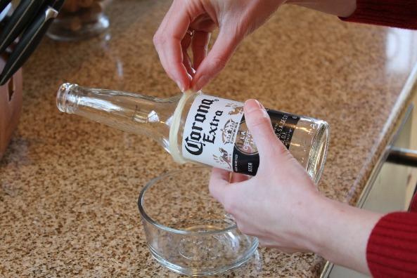 Haz un vaso de una botella 3