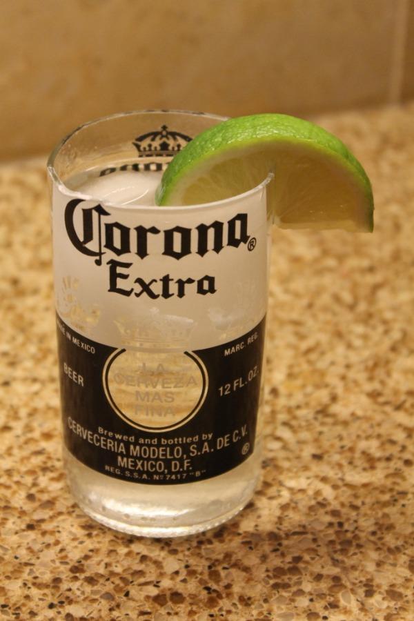 Haz un vaso de una botella 7