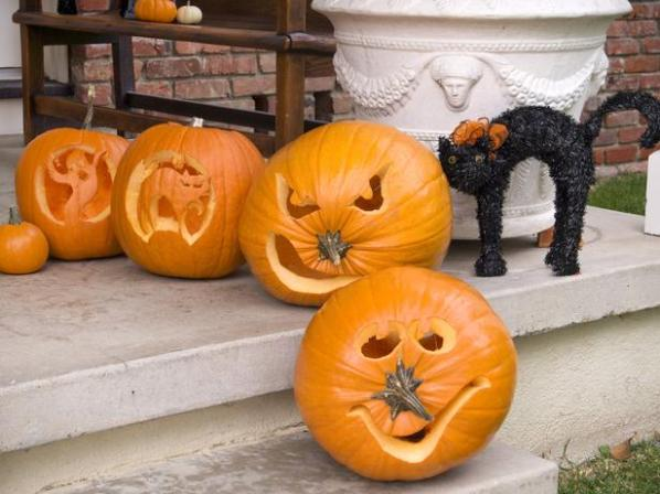 Ideas para decorar calabazas de halloween 2