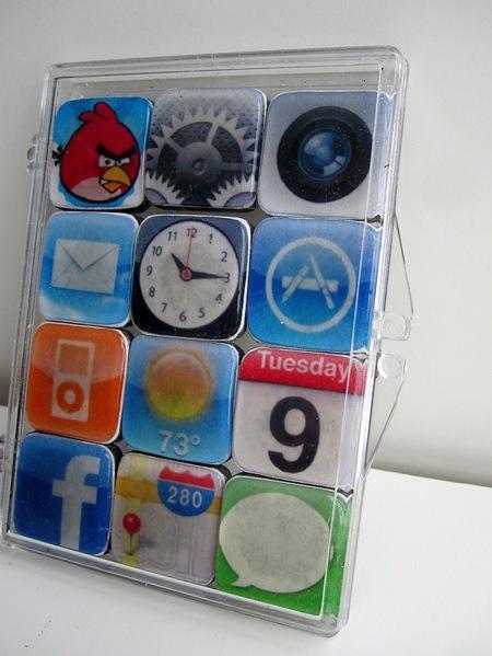 Tus Apps Favoritas Del Iphone En Imanes Gu A De Manualidades