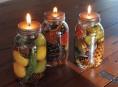 imagen Lamparilla de aceite con decoración vegetal