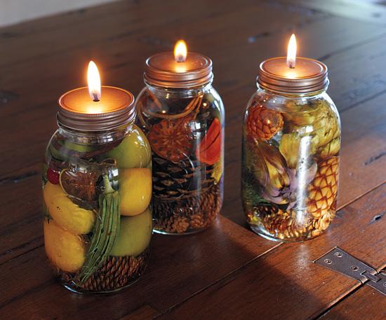 Lamparilla de aceite con decoración vegetal 1