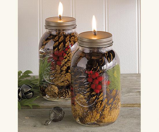 Lamparilla de aceite con decoración vegetal 2