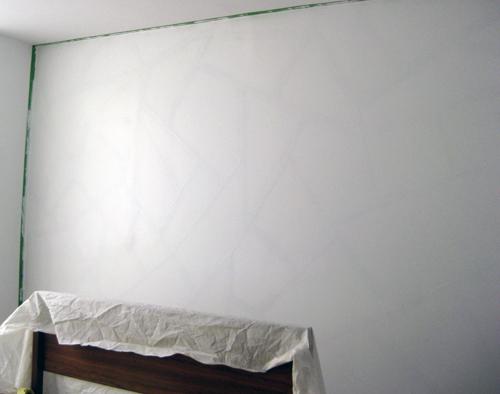 pared con un diseño geométrico 4