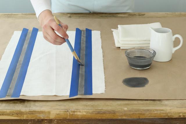Pinta los trapos de cocina gu a de manualidades - Trapos de cocina ...