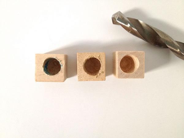 Portavelas de madera 1