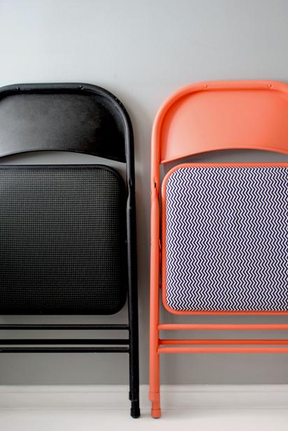 Renueva una silla plegable 1