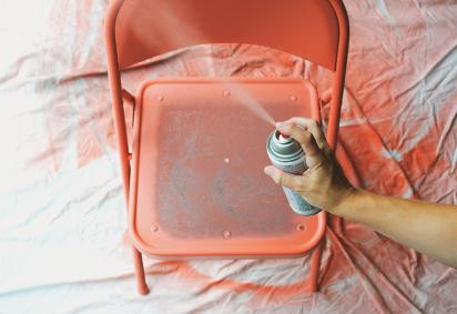 Renueva una silla plegable 4