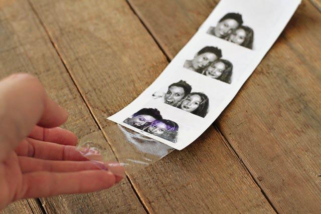 Transferir imágenes con cinta adhesiva 3