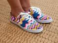 imagen Zapatillas personalizadas muy fáciles