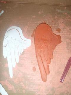 Ángel con arcilla 8