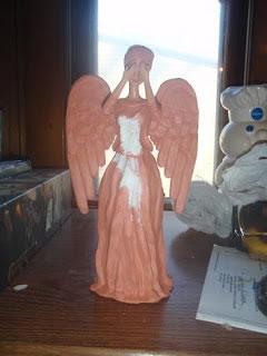 Ángel con arcilla 9
