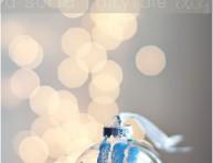 imagen Adorno navideño con la manito de tu bebé
