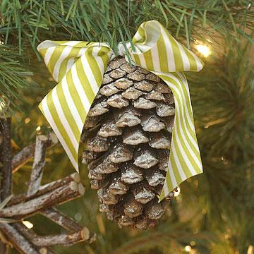 Adornos naturales de navidad 10