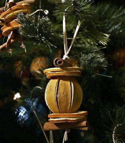 Adornos naturales de navidad 3