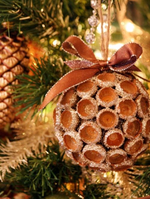 Adornos naturales de navidad 4