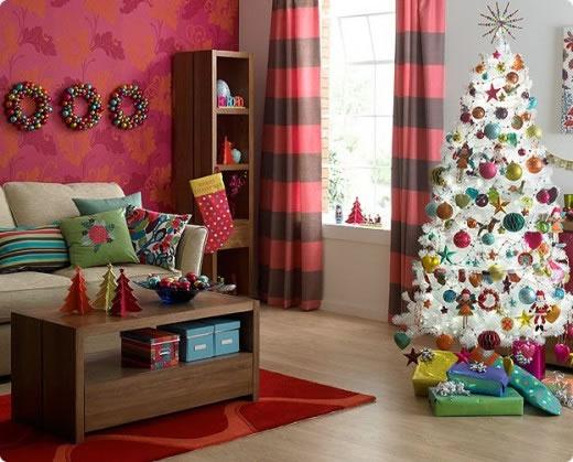 Ideas para el rbol de navidad gu a de manualidades for Muebles decorados de navidad