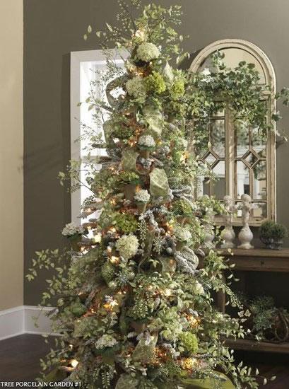 Ideas para el rbol de navidad gu a de manualidades for Decoracion de arboles de navidad 2016