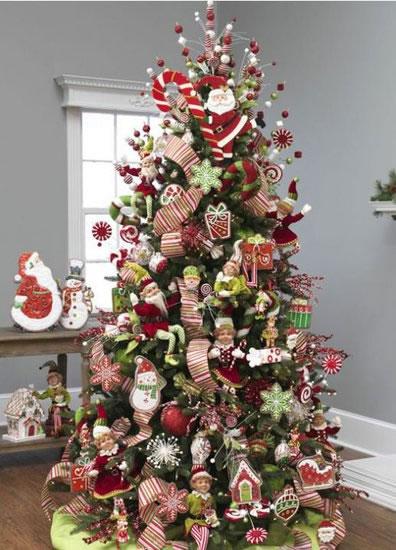ideas para el rbol de navidad gu a de manualidades. Black Bedroom Furniture Sets. Home Design Ideas