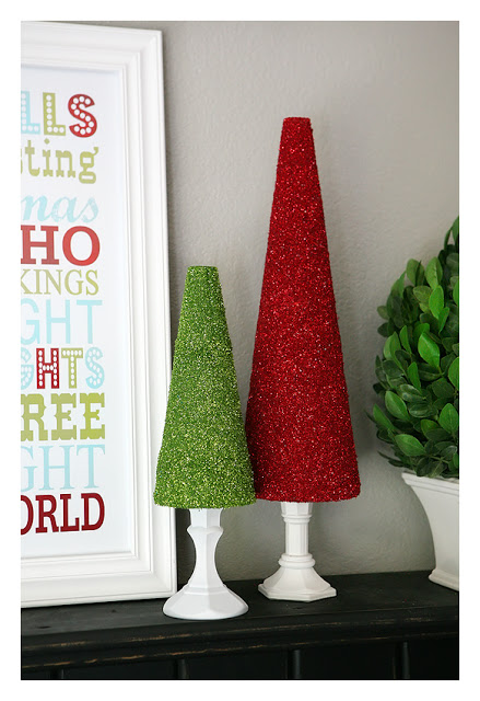 Árboles navideños brillantes 1
