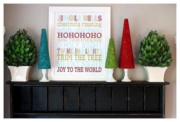 Árboles navideños brillantes 10
