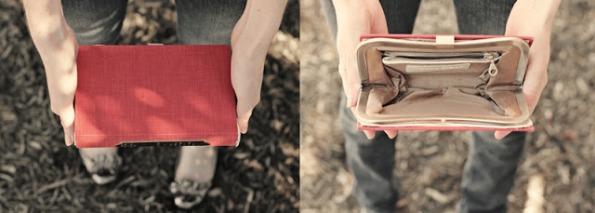 Cómo hacer un bolso-libro 1
