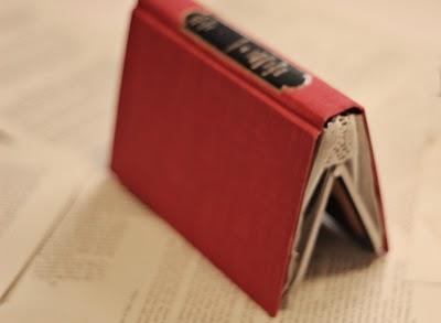 Cómo hacer un bolso-libro 2