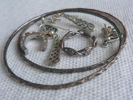 limpieza casera de joyas de plata 1