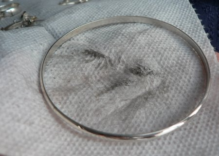 limpieza casera de joyas de plata 5
