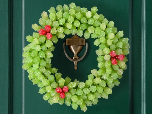 18 ideas para coronas navide as originales gu a de - Ghirlande per porte natalizie ...