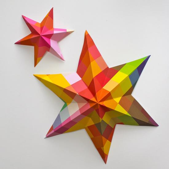 Estrellas de navidad 5