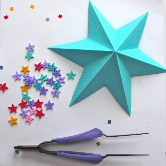 Plantillas De Estrellas Para Decorar.Estrellada Navidad Guia De Manualidades