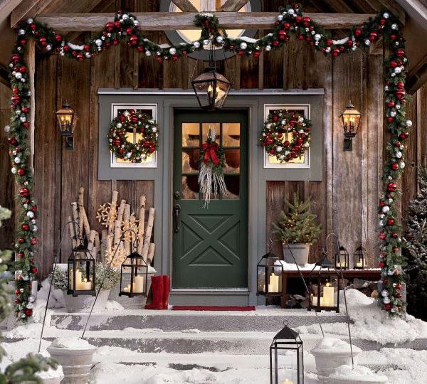 Decora tu entrada para navidad 10