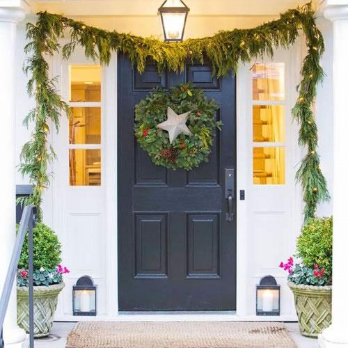 Decora tu entrada para navidad 11