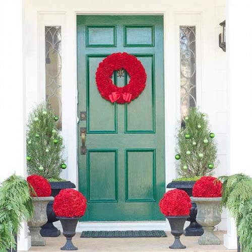 Decora tu entrada para navidad 13