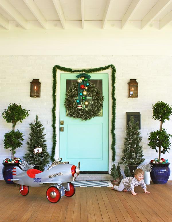Decora tu entrada para navidad 8