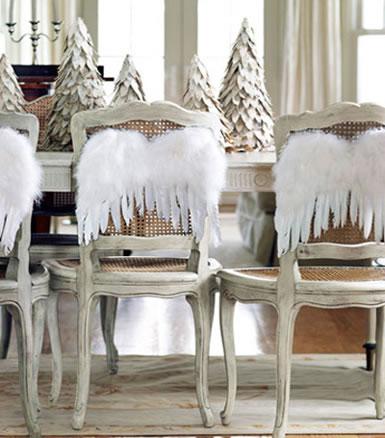 Sillas decoradas por navidad 15