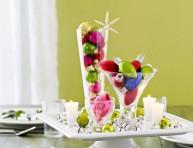 imagen Ideas para decorar con esferas de navidad