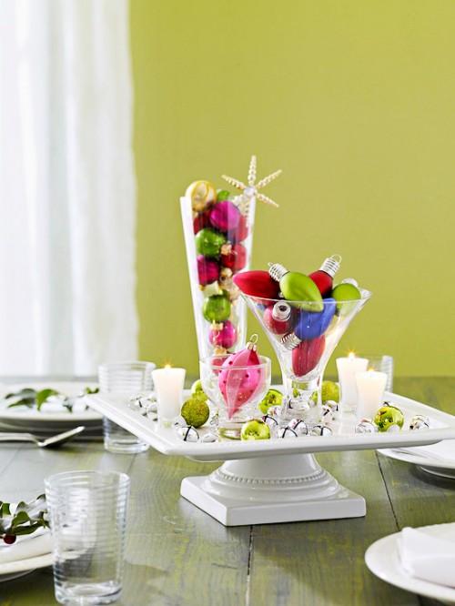decorar con esferas de navidad 1