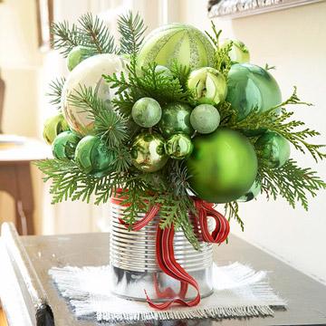 decorar con esferas de navidad 3