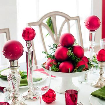decorar con esferas de navidad 4