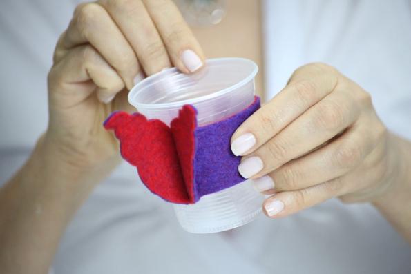 Manualidades con vasos desechables - Decorar vasos plasticos para cumpleanos ...