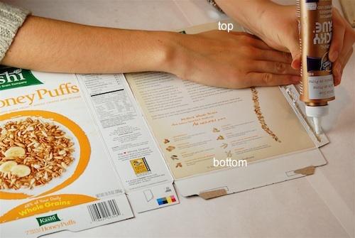 Casas con cajas de cereales 8