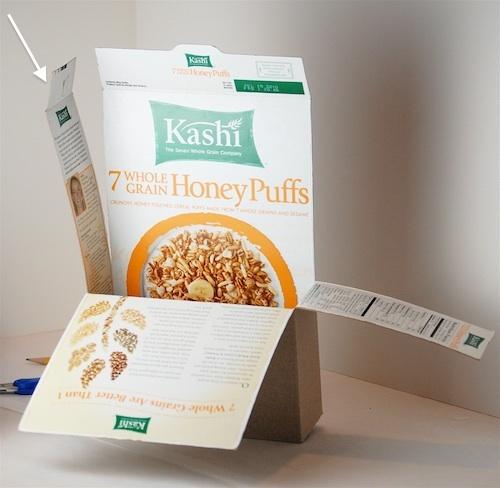 Casas con cajas de cereales 12