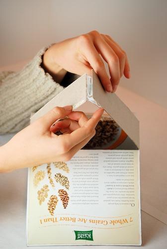 Casas con cajas de cereales 13
