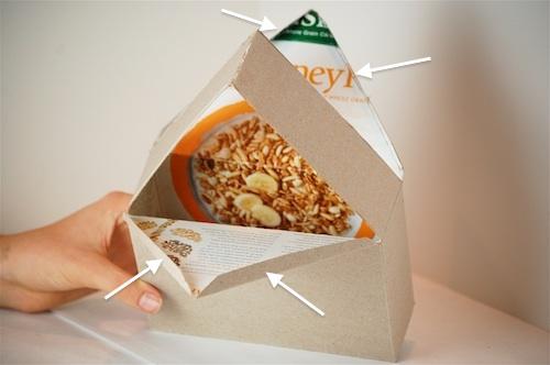 Casas con cajas de cereales 18