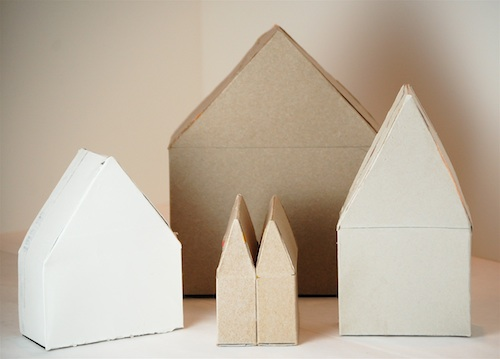 Casas con cajas de cereales 20