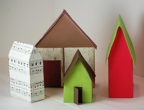 Casas con cajas de cereales 21