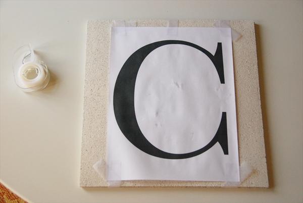 Letras decorativas con hilo trenzado gu a de manualidades - Letras decorativas pared ...